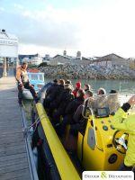 Seminaire Incentive Grandes marees au Mt-St-Michel en bateau semi-rigide 8