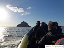 Seminaire Incentive Grandes marees au Mt-St-Michel en bateau semi-rigide 3