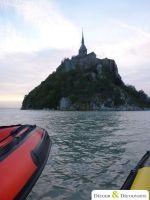 Seminaire Incentive Grandes marees au Mt-St-Michel en bateau semi-rigide 2