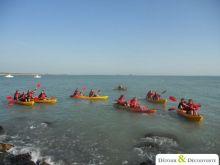 Séminaire en Normandie dans la Manche_2_Kayak de Mer